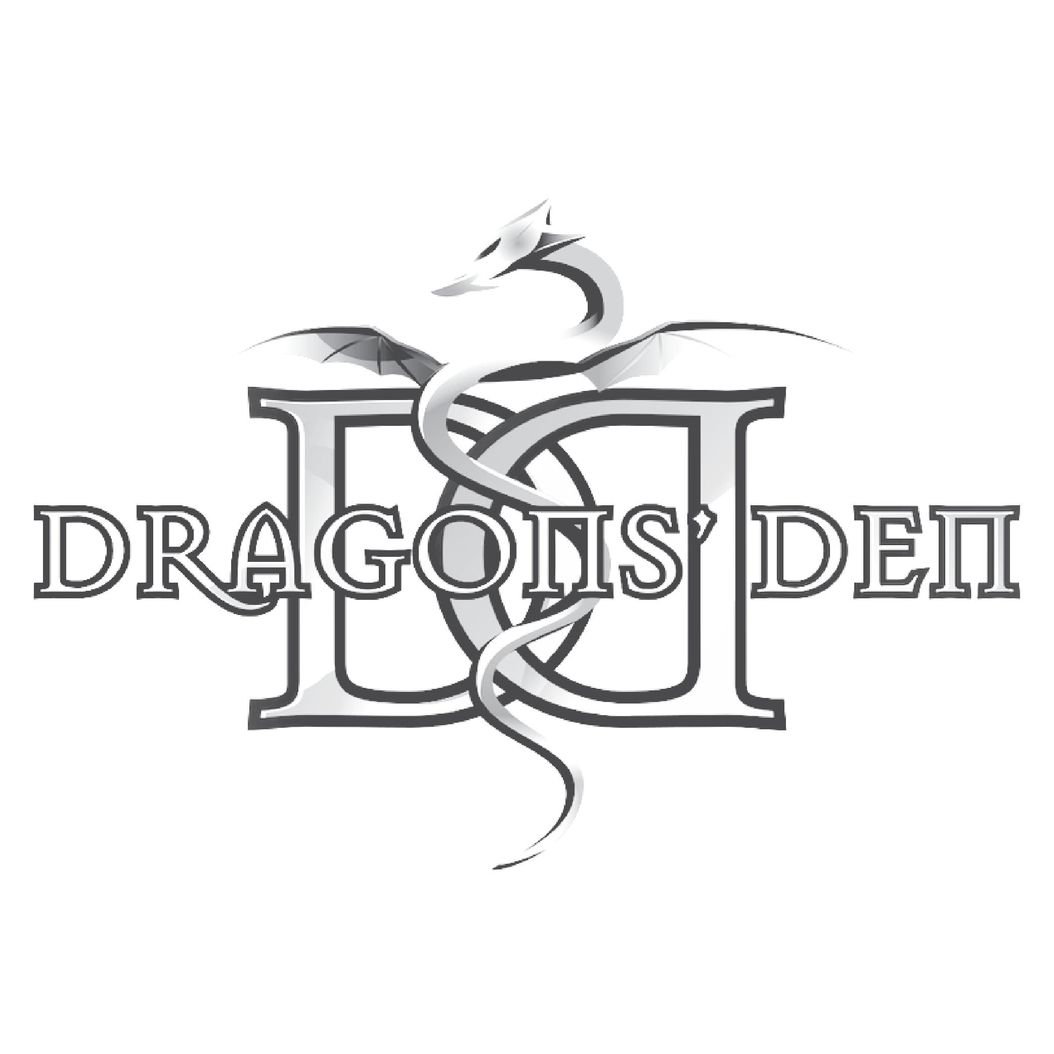 as seen on dragons den logo